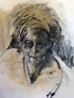 Portrait in Charcoal